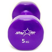 Starfit DB-101 5 КГ Гантель виниловая