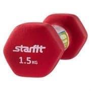 Starfit DB-201 1,5 КГ Гантель неопреновая