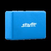 Starfit FA-101 PVC Блок для йоги Голубой