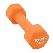 Torres PL55012 Гантель 2 кг