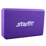 Starfit FA-101 EVA Блок для йоги Фиолетовый