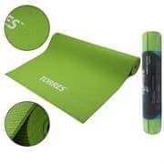 Torres OPTIMA 6 Коврик для йоги Зеленый/Серый