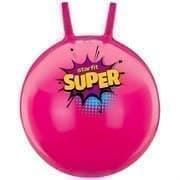 Starfit GB-0401 SUPER 45СМ, 500Г Мяч-попрыгун с рожками антивзрыв Розовый