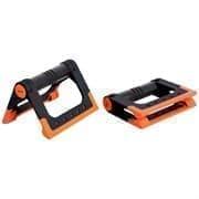 Starfit BA-304 Упоры для отжиманий cкладные Черный/Оранжевый