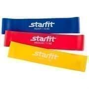 Starfit ES-203 Комплект мини-эспандеров (3 шт) Яркие цвета