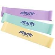 Starfit ES-203 Комплект мини-эспандеров (3 шт) Пастельные цвета
