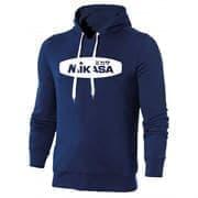 Mikasa MAN Толстовка с капюшоном Темно-синий/Белый