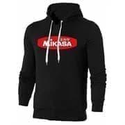 Mikasa MAN Толстовка с капюшоном Черный/Красный