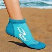 Vincere SPRITES SAND SOCKS MARINE BLUE Носки для пляжного волейбола Голубой/Белый