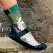 Vincere GRIP SOCKS STRAPPED (липкий лого) Носки для пляжного волейбола Камуфляж