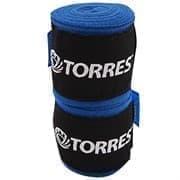 Torres PRL619016 Бинт боксерский Синий/Черный