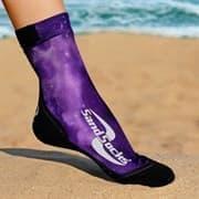 Vincere SAND SOCKS PURPLE GALAXY BLACK TOE Носки для пляжного волейбола Фиолетовый/Черный