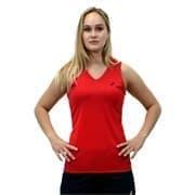 Asics SS TEE INDOOR (W) Футболка игровая волейбольная женская Красный