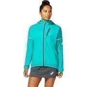 Asics FUJITRAIL JACKET (W) Куртка беговая ветрозащитная женская Голубой