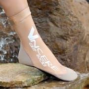 Vincere GRIP SOCKS BEIGE Носки для пляжного волейбола (Липкий лого) Бежевый
