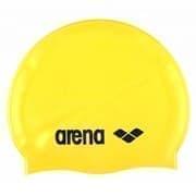 Arena CLASSIC SILICONE Шапочка для плавания Желтый/Черный