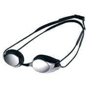 Arena TRACKS MIRROR Очки для плавания Серебристый/Черный