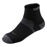 Mizuno DRYLITE RACE MID Носки беговые Черный/Серый