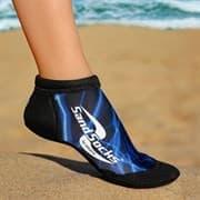 Vincere SPRITES SAND SOCKS BLUE LIGHTNING Носки для пляжного волейбола Черный/Синий