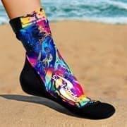 Vincere SAND SOCKS HYDRO DIP Носки для пляжного волейбола Черный/Разноцветный