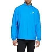 Asics SILVER JACKET Куртка беговая ветрозащитная Синий/Белый