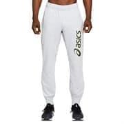 Asics ASICS BIG LOGO SWEAT PANT Брюки спортивные муж бег Белый/Зеленый