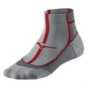 Mizuno COOLING COMFORT MID Носки беговые Серый/Красный