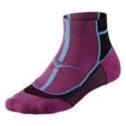 Mizuno COOLING COMFORT MID Носки беговые Фиолетлвый/Черный/Голубой