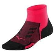 Mizuno DRYLITE RACE MID Носки беговые Розовый/Черный