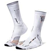Moretan SQUARD Носки беговые высокие Белый/Серый