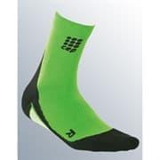 CEP C10W Носки беговые высокие   женские Зеленый/Черный
