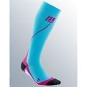 CEP C12W Гольфы беговые женские Голубой/Розовый