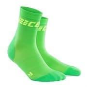 CEP C2UW ULTRALIGHT Носки беговые высокие женские Зеленый/Салатовый
