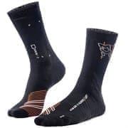 Moretan SQUARD Носки беговые высокие Черный/Белый