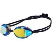 TYR TRACER-X RACING MIRRORED LGTRXM/751 Очки для плавания Черный/Оранжевый