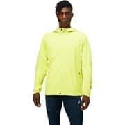 Asics ACCELERATE JACKET Куртка беговая ветрозащитная Салатовый/Серый