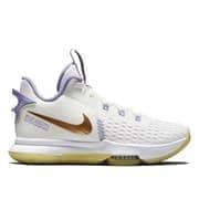 Nike LEBRON WITNESS V Кроссовки баскетбольные Белый/Фиолетовый