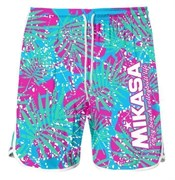 Mikasa MT6042 Шорты для пляжного волейбола Голубой/Розовый
