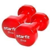 Starfit CORE DB-101 3 КГ Гантель виниловая (пара)