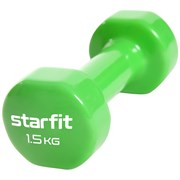 Starfit CORE DB-101 1,5 КГ Гантель виниловая