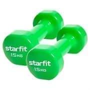 Starfit CORE DB-101 1,5 КГ Гантель виниловая (пара)