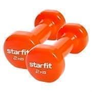 Starfit CORE DB-101 2 КГ Гантель виниловая (пара)