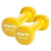 Starfit CORE DB-101 0,5 КГ Гантель виниловая (пара)
