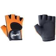 Starfit SU-107 Перчатки для фитнеса Оранжевый/Черный