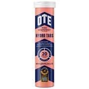 OTE SPORTS ISOTONIC 20 TABS Напиток изотонический в растворимых таблетках Розовый грейпфрут+кофеин