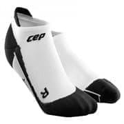 CEP C00M Носки беговые низкие Белый/Черный