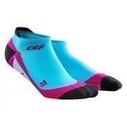CEP C00W Носки беговые низкие женские Голубой/Розовый/Черный