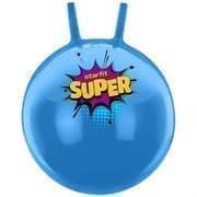 Starfit GB-0401 SUPER 45СМ, 500Г Мяч-попрыгун с рожками антивзрыв Голубой