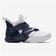 Nike LEBRON SOLDIER XII SFG Кроссовки баскетбольные Темно-синий/Белый