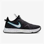 Nike PG 4 Кроссовки баскетбольные Черный/Голубой